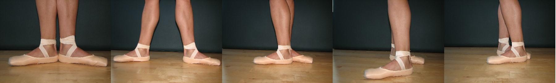 Ballet Dancer 5 positions